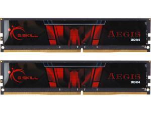 G.SKILL Aegis 32GB (2 x 16GB) 288-Pin DDR4 SDRAM DDR4 2666 (PC4 21300) Desktop Memory Model F4-2666C19D-32GIS