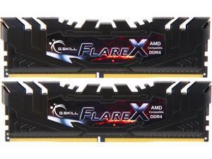 G.SKILL Flare X (for AMD) 16GB (2 x 8GB) 288-Pin DDR4 SDRAM DDR4 3200 (PC4 25600) Intel XMP 2.0 Desktop Memory Model F4-3200C16D-16GFX