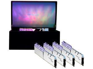 G.SKILL Trident Z Royal Series 32GB (4 x 8GB) 288-Pin DDR4 SDRAM DDR4 3200 (PC4 25600) Desktop Memory - Collector Edition Model F4-3200C16Q-32GTRSU