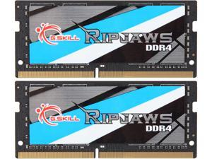 G.SKILL Ripjaws Series 32GB (2 x 16GB) 260-Pin DDR4 SO-DIMM DDR4 2666 (PC4 21300) Laptop Memory Model F4-2666C19D-32GRS