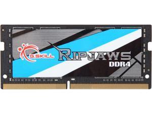 G.SKILL Ripjaws Series 16GB 260-Pin DDR4 SO-DIMM DDR4 2666 (PC4 21300) Laptop Memory Model F4-2666C19S-16GRS