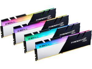 G.SKILL Trident Z Neo (For AMD Ryzen) Series 32GB (4 x 8GB) 288-Pin RGB DDR4 SDRAM DDR4 3200 (PC4 25600) Desktop Memory Model F4-3200C16Q-32GTZN