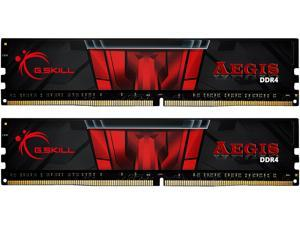 G.SKILL Aegis 16GB (2 x 8GB) 288-Pin DDR4 SDRAM DDR4 3200 (PC4 25600) Intel XMP 2.0 Memory Kit Model F4-3200C16D-16GIS