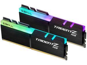 G.SKILL TridentZ RGB Series 16GB (2 x 8GB) 288-Pin DDR4 SDRAM DDR4 3600 (PC4 28800) Desktop Memory Model F4-3600C16D-16GTZRC