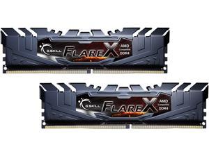 G.SKILL Flare X Series 32GB (2 x 16GB) 288-Pin DDR4 SDRAM DDR4 3200 (PC4 25600) Desktop Memory Model F4-3200C14D-32GFX