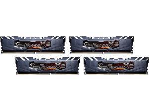 G.SKILL Flare X Series 64GB (4 x 16GB) 288-Pin DDR4 SDRAM DDR4 3200 (PC4 25600) Desktop Memory Model F4-3200C14Q-64GFX