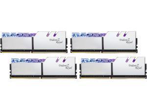 G.SKILL Trident Z Royal Series 64GB (4 x 16GB) 288-Pin DDR4 SDRAM DDR4 3600 (PC4 28800) Desktop Memory Model F4-3600C16Q-64GTRSC