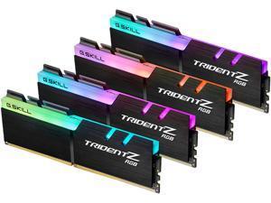 G.SKILL TridentZ RGB Series 64GB (4 x 16GB) 288-Pin DDR4 SDRAM DDR4 3600 (PC4 28800) Desktop Memory Model F4-3600C16Q-64GTZRC