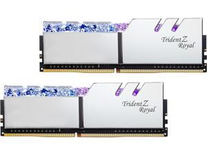 G.SKILL Trident Z Royal Series 32GB (2 x 16GB) 288-Pin DDR4 SDRAM DDR4 3600 (PC4 28800) Desktop Memory Model F4-3600C18D-32GTRS