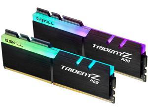 G.SKILL TridentZ RGB Series 32GB (2 x 16GB) 288-Pin DDR4 SDRAM DDR4 3600 (PC4 28800) Intel XMP 2.0 Desktop Memory Model F4-3600C18D-32GTZR