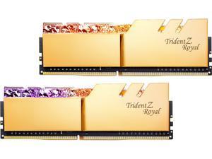 G.SKILL Trident Z Royal Series 16GB (2 x 8GB) 288-Pin DDR4 SDRAM DDR4 4000 (PC4 32000) Desktop Memory Model F4-4000C18D-16GTRG