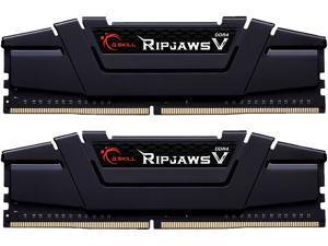 G.SKILL Ripjaws V Series 64GB (2 x 32GB) 288-Pin DDR4 SDRAM DDR4 3200 (PC4 25600) Intel XMP 2.0 Desktop Memory Model F4-3200C16D-64GVK