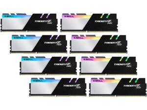 G.SKILL Trident Z Neo Series 256GB (8 x 32GB) 288-Pin DDR4 SDRAM DDR4 2666 (PC4 21300) Desktop Memory Model F4-2666C18Q2-256GTZN