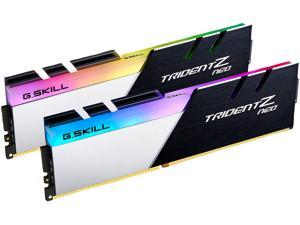 G.SKILL Trident Z Neo Series 64GB (2 x 32GB) 288-Pin DDR4 SDRAM DDR4 3200 (PC4 25600) Intel XMP 2.0 Desktop Memory Model F4-3200C16D-64GTZN