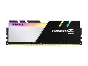 G.SKILL Trident Z Neo Series 64GB (2 x 32GB) 288-Pin DDR4 SDRAM DDR4 3200 (PC4 25600) Intel XMP 2.0 Desktop Memory Model F4-3200C16D-64GTZN