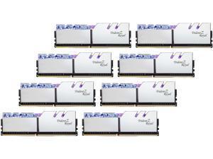 G.SKILL Trident Z Royal Series 256GB (8 x 32GB) 288-Pin DDR4 SDRAM DDR4 3200 (PC4 25600) Desktop Memory Model F4-3200C16Q2-256GTRS