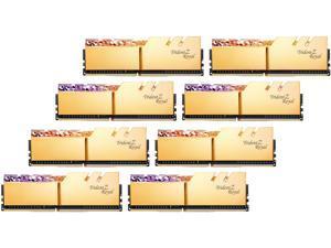 G.SKILL Trident Z Royal Series 256GB (8 x 32GB) 288-Pin DDR4 SDRAM DDR4 2666 (PC4 21300) Desktop Memory Model F4-2666C18Q2-256GTRG