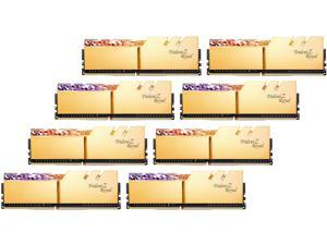 G.SKILL Trident Z Royal Series 256GB (8 x 32GB) 288-Pin DDR4 SDRAM DDR4 3200 (PC4 25600) Desktop Memory Model F4-3200C16Q2-256GTRG
