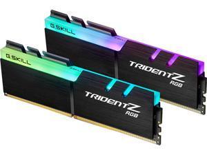 G.SKILL TridentZ RGB Series 16GB (2 x 8GB) 288-Pin DDR4 SDRAM DDR4 4000 (PC4 32000) Desktop Memory Model F4-4000C15D-16GTZR