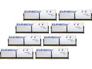 G.SKILL Trident Z Royal Series 64GB (8 x 8GB) 288-Pin DDR4 SDRAM DDR4 4000 (PC4 32000) Desktop Memory Model F4-4000C15Q2-64GTRS