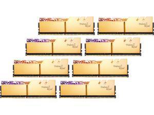 G.SKILL Trident Z Royal Series 64GB (8 x 8GB) 288-Pin DDR4 SDRAM DDR4 4000 (PC4 32000) Desktop Memory Model F4-4000C15Q2-64GTRG