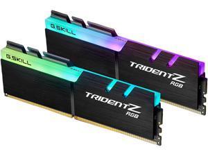 G.SKILL TridentZ RGB Series 64GB (2 x 32GB) 288-Pin DDR4 SDRAM DDR4 2666 (PC4 21300) Intel XMP 2.0 Desktop Memory Model F4-2666C18D-64GTZR