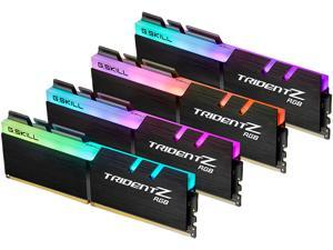 G.SKILL TridentZ RGB Series 128GB (4 x 32GB) 288-Pin DDR4 SDRAM DDR4 3600 (PC4 28800) Intel XMP 2.0 Desktop Memory Model F4-3600C18Q-128GTZR