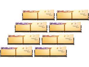 G.SKILL Trident Z Royal Series 256GB (8 x 32GB) 288-Pin DDR4 SDRAM DDR4 3600 (PC4 28800) Intel XMP 2.0 Desktop Memory Model F4-3600C18Q2-256GTRG