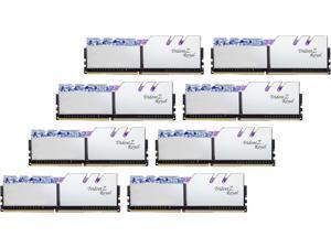 G.SKILL Trident Z Royal Series 256GB (8 x 32GB) 288-Pin DDR4 SDRAM DDR4 3600 (PC4 28800) Intel XMP 2.0 Desktop Memory Model F4-3600C18Q2-256GTRS