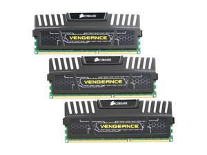 CORSAIR Vengeance 12GB (3 x 4GB) 240-Pin DDR3 SDRAM DDR3 1600 (PC3 12800) Desktop Memory Model CMZ12GX3M3A1600C9