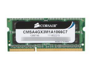 CORSAIR 4GB DDR3 1066 (PC3 8500) Memory for Apple Model CMSA4GX3M1A1066C7