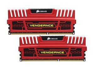 CORSAIR Vengeance 8GB (2 x 4GB) 240-Pin DDR3 SDRAM DDR3 1600 (PC3 12800) Memory Kit Model CMZ8GX3M2A1600C9R