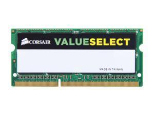 CORSAIR ValueSelect 8GB 204-Pin DDR3 SO-DIMM DDR3 1333 (PC3 10600) Laptop Memory Model CMSO8GX3M1A1333C9