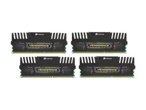 CORSAIR Vengeance 32GB (4 x 8GB) 240-Pin DDR3 SDRAM DDR3 1600 (PC3 12800) Desktop Memory Model CMZ32GX3M4X1600C10
