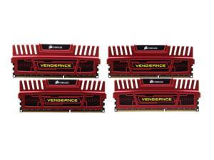 CORSAIR Vengeance 16GB (4 x 4GB) 240-Pin DDR3 SDRAM DDR3 1866 (PC3 14900) Desktop Memory Model CMZ16GX3M4X1866C9R