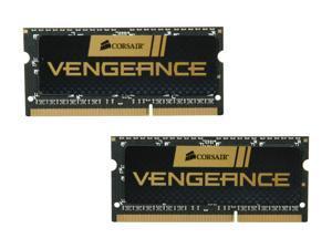 CORSAIR Vengeance 8GB (2 x 4GB) 204-Pin DDR3 SO-DIMM DDR3 1600 (PC3 12800) Laptop Memory Model CMSX8GX3M2A1600C9