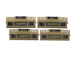 CORSAIR Vengeance 16GB (4 x 4GB) 240-Pin DDR3 SDRAM DDR3L 1600 (PC3L 12800) Desktop Memory Model CMZ16GX3M4X1600C9G