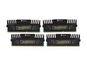 CORSAIR Vengeance 16GB (4 x 4GB) 240-Pin DDR3 SDRAM DDR3 1866 (PC3 14900) Desktop Memory Model CMZ16GX3M4X1866C9
