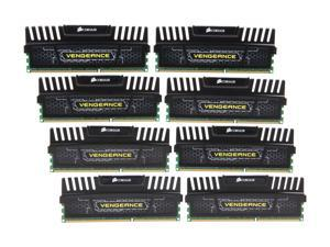 CORSAIR Vengeance 32GB (8 x 4GB) 240-Pin DDR3 SDRAM DDR3 1600 (PC3 12800) Desktop Memory Model CMZ32GX3M8X1600C9
