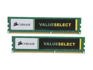 CORSAIR ValueSelect 16GB (2 x 8GB) 240-Pin DDR3 SDRAM DDR3 1333 (PC3 10600) Desktop Memory Model CMV16GX3M2A1333C9