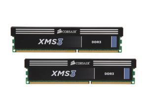 CORSAIR XMS 16GB (2 x 8GB) 240-Pin DDR3 SDRAM DDR3 1333 Desktop Memory Model CMX16GX3M2A1333C9