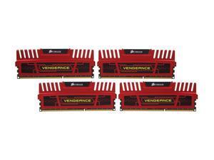 CORSAIR Vengeance 16GB (4 x 4GB) 240-Pin DDR3 SDRAM DDR3 2133 Desktop Memory Model CMZ16GX3M4A2133C9R