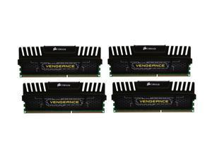 CORSAIR Vengeance 32GB (4 x 8GB) 240-Pin DDR3 SDRAM DDR3 1600 (PC3 12800) Desktop Memory Model CMZ32GX3M4A1600C9