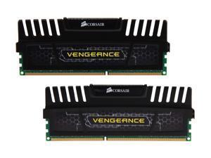 CORSAIR Vengeance 16GB (2 x 8GB) 240-Pin DDR3 SDRAM DDR3 2400 Desktop Memory Model CMZ16GX3M2A2400C10