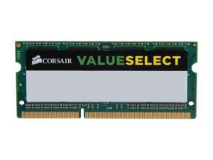 CORSAIR ValueSelect 8GB 204-Pin DDR3 SO-DIMM DDR3 1600 (PC3 12800) Laptop Memory Model CMSO8GX3M1A1600C11