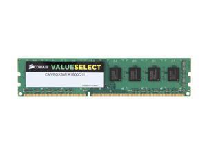 CORSAIR ValueSelect 8GB 240-Pin DDR3 SDRAM DDR3 1600 (PC3 12800) Desktop Memory Model CMV8GX3M1A1600C11