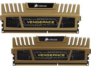 CORSAIR Vengeance 8GB (2 x 4GB) 240-Pin DDR3 SDRAM DDR3 1600 (PC3 12800) Desktop Memory Model CMZ8GX3M2B1600C9G