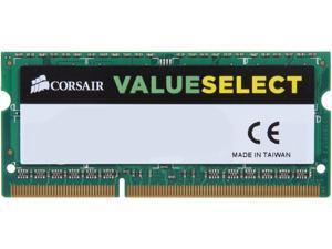 CORSAIR ValueSelect 4GB 204-Pin DDR3 SO-DIMM DDR3L 1333 (PC3L 10600) Laptop Memory Model CMSO4GX3M1C1333C9