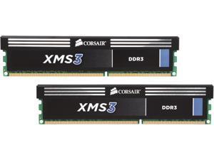 CORSAIR XMS3 8GB (2 x 4GB) 240-Pin DDR3 SDRAM DDR3 1333 (PC3 10600) Desktop Memory Model CMX8GX3M2B1333C9