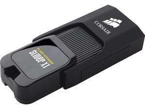 Corsair 64GB Voyager Slider X1 USB 3.0 Flash Drive, Speed Up to 130MB/s (CMFSL3X1-64GB)